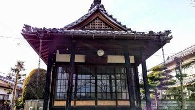 愛知県徳岩院の本殿