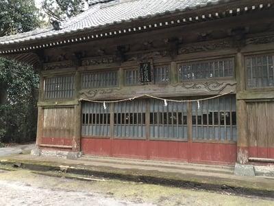 千葉県下立松原神社の本殿