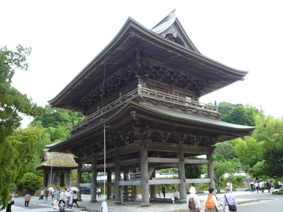神奈川県建長寺の本殿