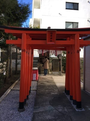 伊富稲荷神社の鳥居