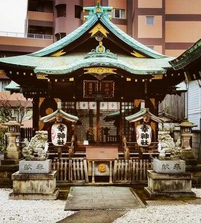 東京都幸稲荷神社の本殿