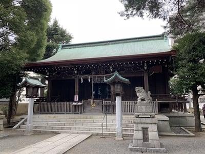 神奈川県松原神社の本殿