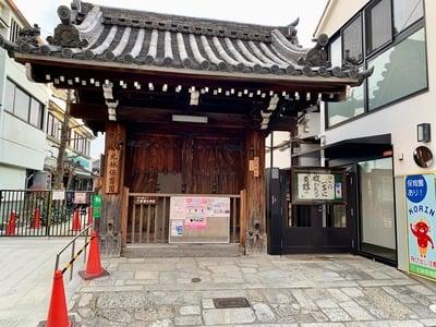 光林寺の山門