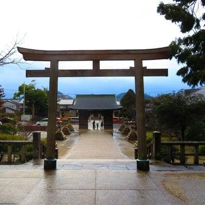 鳥取県勝田神社の写真