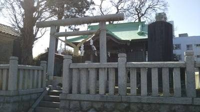 茨城県津神社の鳥居