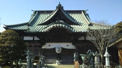 茨城県千福寺の本殿