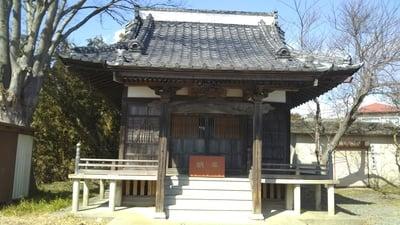 茨城県浪切不動尊の本殿