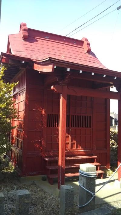 小沢稲荷神社の本殿