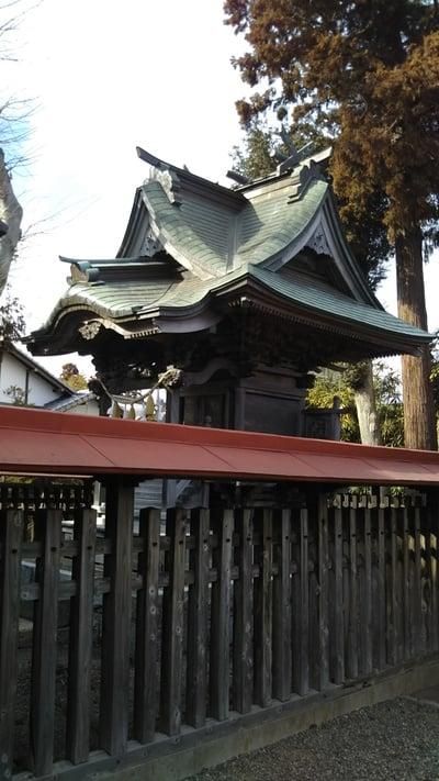 茨城県西宮神社の本殿