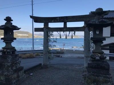 千葉県香指神社の鳥居