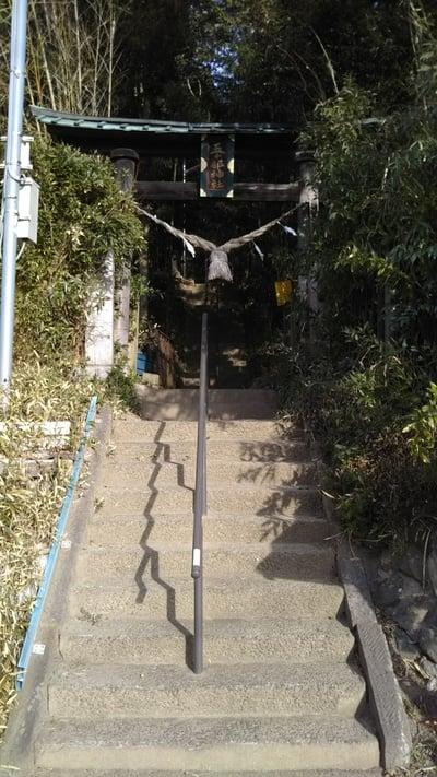 熊野鹿島神社の鳥居