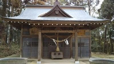 熊野鹿島神社の本殿