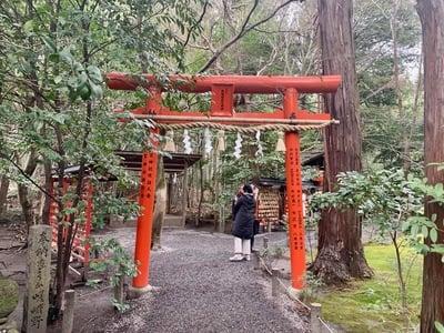 野宮神社の鳥居