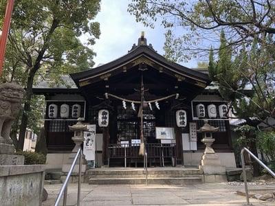 大阪府東高津宮の本殿
