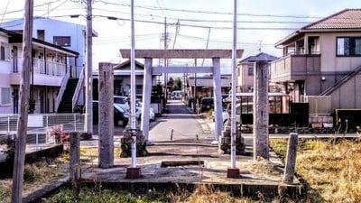 熊野社(神野熊野神社)の鳥居