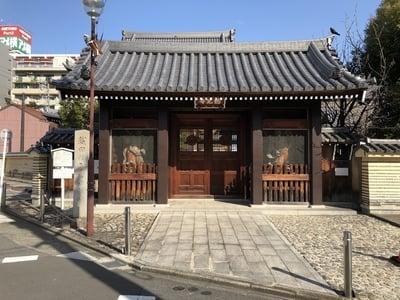 総見寺の山門
