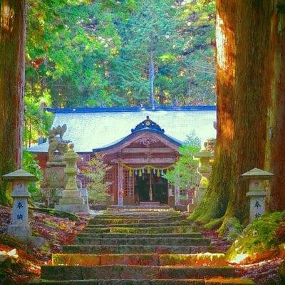 岡山県大佐神社の写真