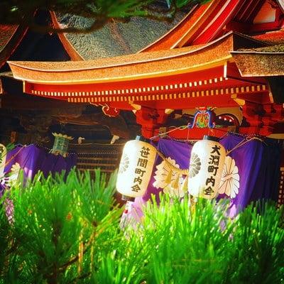 岡山県熊野神社の本殿
