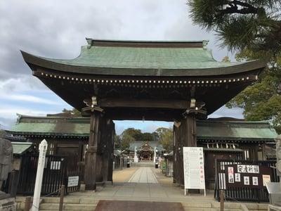 兵庫県赤穂大石神社の本殿