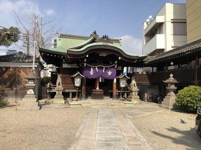 大阪府比賣許曾神社の本殿