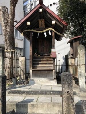 大阪府比賣許曾神社の末社