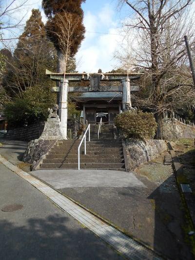 熊本県御宇田神宮(御宇田神社)の鳥居