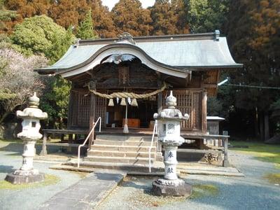 熊本県御宇田神宮(御宇田神社)の本殿