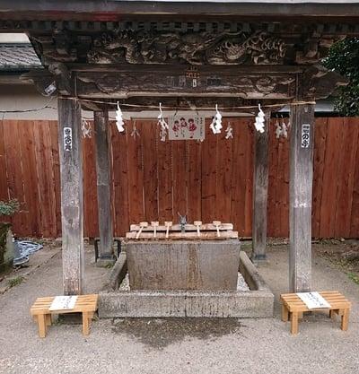 鷲宮神社(埼玉県鷲宮駅) - 手水舎の写真