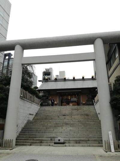 芝大神宮(東京都大門駅) - 鳥居の写真