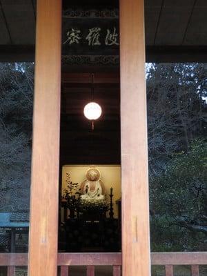 神奈川県東慶寺の本殿