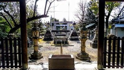 愛知県神明社(井出神明社)の鳥居