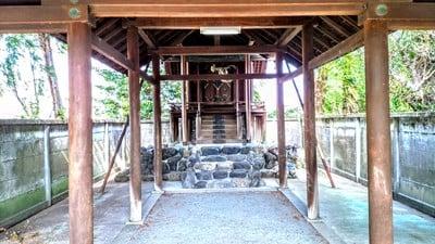 愛知県神明社(井出神明社)の本殿