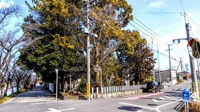 愛知県神明社(井出神明社)の周辺