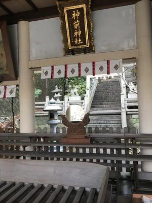 愛知県神前神社の本殿