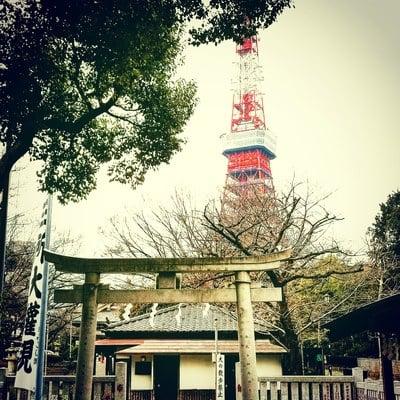 熊野神社の景色