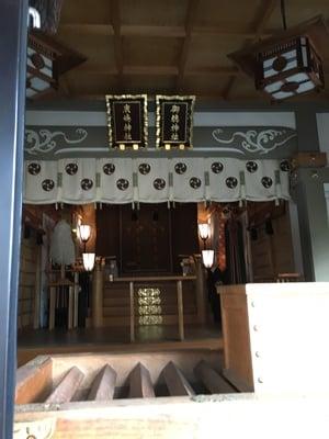 東京都御穂鹿嶋神社の本殿