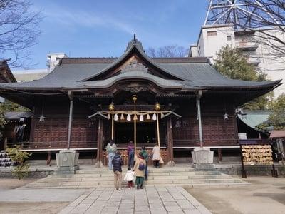 長野県四柱神社の本殿