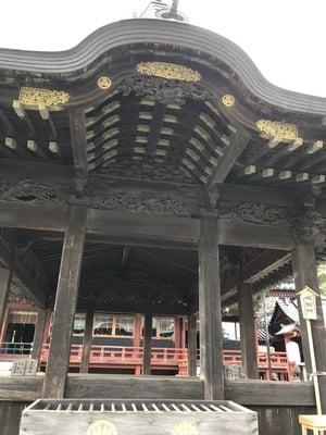 静岡県静岡浅間神社の本殿