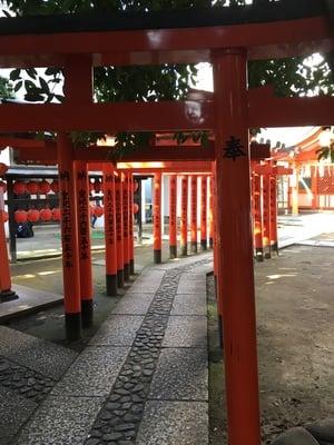 東京都豊栄稲荷神社の鳥居
