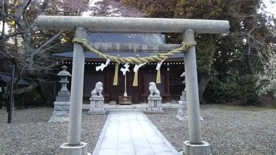 熊野神社(茨城県日立駅) - 鳥居の写真