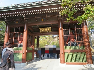 神奈川県高徳院の本殿