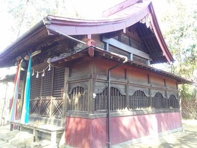 埼玉県槐戸八幡神社の本殿