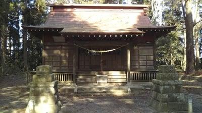 酒列神社の本殿