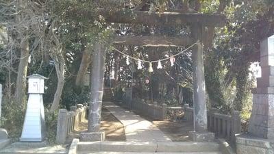 掘出神社の鳥居