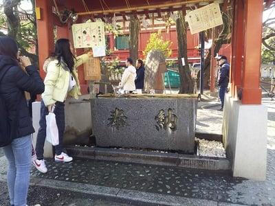 浅草神社の手水