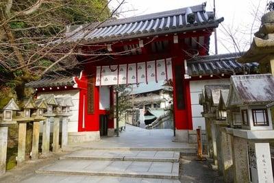 奈良県朝護孫子寺の本殿