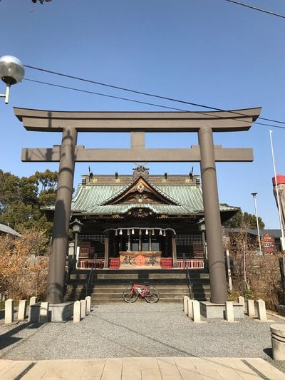 群馬県雷電神社の本殿