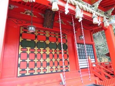 神奈川県江島神社の本殿