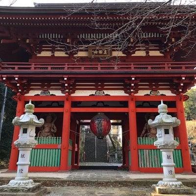 岩船山高勝寺の山門