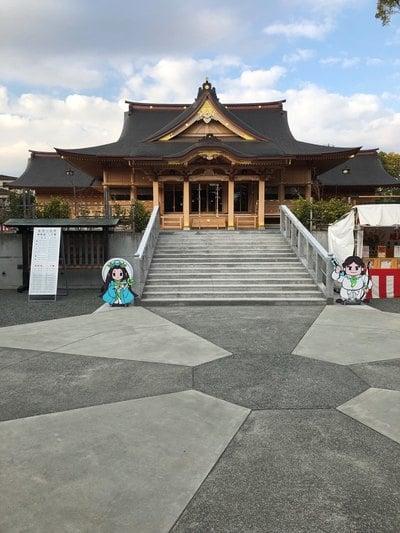 静岡県富知六所浅間神社の本殿
